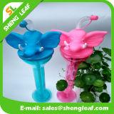 Cool Elephant Design Customized Plastic Drinking Water Garrafa