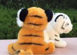 子供のためのプラシ天によって詰められるトラの動物のおもちゃのように実質