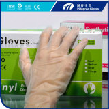 Belüftung-Handschuh-Wegwerfsicherheits-ärztliche Untersuchung-Vinylhandschuhe