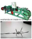 Аттестованная Ce колючая проволока просто конструкции делая машину