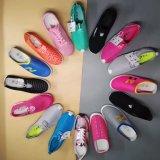 網の上部の偶然靴の標準的な靴