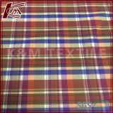 Motif de vérification des fils teints 40 60 de la soie en tissu de coton pour chemise