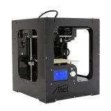 2017년 Anet 파워를 끄 이력서 금속 구조 Prusa I3 3D 인쇄 기계 탁상용 3D 인쇄 기계