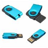 Schwenker-Minimetall-USB-Flash-Speicher-Feder-Laufwerk-Firmenzeichen-Laser