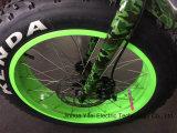 20 polegadas que dobram a bicicleta elétrica gorda com bateria do Lítio-Íon todo o terreno