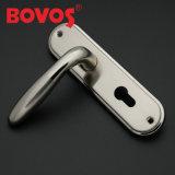 Bloqueo de puerta de aluminio de la maneta de la placa del hierro (F7148-LC5)
