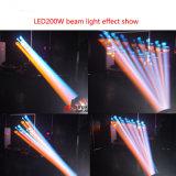 Luz principal movente do esporte 200W do diodo emissor de luz de Nj-200W