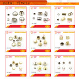 Hot Selling Custom Decorative Metal Button Rivets / Custom Jeans Rivets / Metal Custom Rivets