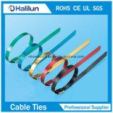 PVC покрыл цветастым зафиксированные шариком связи кабеля нержавеющей стали