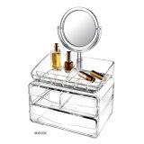 Commerce de gros Lucite Organisateur de maquillage avec tiroirs Affichage cosmétique