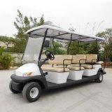 Ce одобряет автомобиль 11 Seaters электрический Sightseeing для авиапорта