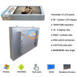 Alto brilho do sol legível de 55 polegadas LCD Monitor de publicidade exterior (MW-551OB)