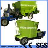 Máquina de mistura Vertical/Horizontal Feno Seco de esmagamento na alimentação animal