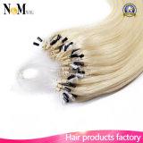 ループマイクロリングの毛別のカラー毛の拡張カーテンのケラチンの毛