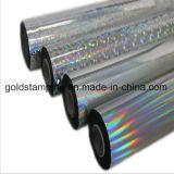スクラッチラベルの使用のホログラフィック虹の熱い押すホイル