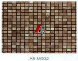 Piedra de mármol azulejos de mosaico de decoración de la pared