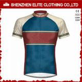 Maillot de cyclisme à manches courtes personnalisé pour homme (ELTCJI-4)