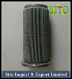 Filtro do cartucho do engranzamento de fio 316 do aço inoxidável
