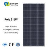 comitato monocristallino di energia solare del generatore solare 315W