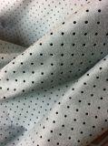 테이블 피복과 의복 가정 직물 실내 장식품을%s 폴리에스테에 의하여 구멍을 뚫는 스웨드 직물