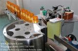 Aplicador automático da etiqueta da etiqueta do recipiente plástico com posição do reparo