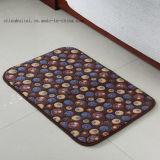 珊瑚の羊毛の印刷の床のマット