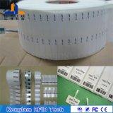 Etiqueta eletrônica de jóias RFID com embalagem de selo termoplástico