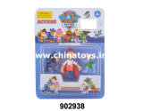 """最も新しい子供のトイドッグの一定のおもちゃのプラスチック3 """"人形(902937)"""