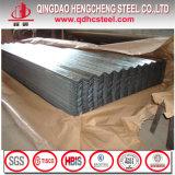 Los materiales de construcción de techos de chapa de acero recubierto de chapa de acero Alu-Zinc