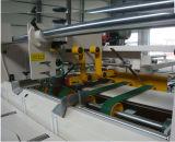 機械を折り、つける高速自動段ボール紙ボックス