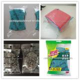 Machine à emballer automatisée électrique de récurage de machine à emballer de commutateur de tissu