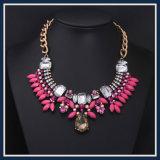 De nieuwe Vastgestelde Halsband van de Juwelen van de Manier van de Hars van het Punt Acryl