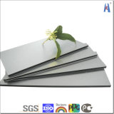 Серебристый алюминиевый Композитный пластик серого цвета панели управления