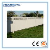 Clôtures PVC PVC Roomeye PANNEAUX DE CLÔTURE La clôture de la vie privée