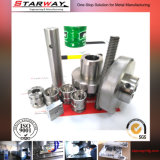 Präzisions-maschinell bearbeitende Stahleisen-Aluminiumbronze CNC maschinelle Bearbeitung