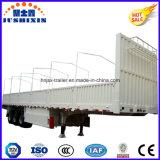 O caminhão Superlink do leito da parede lateral/cerca dos eixos do competidor do preço de fábrica 3 Semi liga a carga/reboque de trator de serviço público do caminhão para a venda
