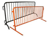 Barreira do controle de multidão, barricadas portáteis, barreiras Pedestrian