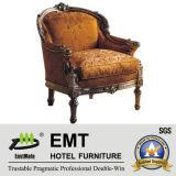 Star Hotel Hôtel en bois Meubles chaise (EMT-HC95)