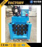 Máquina de friso da mangueira hidráulica nova do projeto com a ferramenta rápida da mudança para a venda