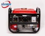 generador silencioso portable de la gasolina del alambre 1kw del comienzo de aluminio del retroceso pequeño