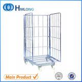 Faltendes Rolling Metal Storage Cage mit Wheels