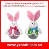 Presente da graduação do coelho de Easter da decoração de Easter (ZY15Y303-1-2-3)
