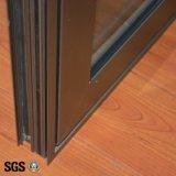 日本YkkブランドのマルチロックK03023が付いている高い陽極酸化されたアルミニウムプロフィールの開き窓のWindows