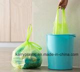 Sacchetti di rifiuti portatili di plastica, sacchetti di immondizia su rullo