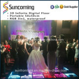 Mariage, excellent miroir étonnant LED Dance Floor d'effet de partie