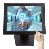 工場供給POS VGA USB LCDの抵抗4/5ワイヤー15インチのタッチ画面のモニタ