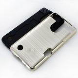 Ranura para tarjeta híbrida del caso a prueba de golpes de teléfono para LG Aristo / LV3 / V3
