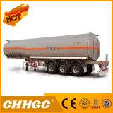 3 Eje químico líquido del tanque Transporte Semirremolque