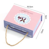 Rectángulo portátil Caja de regalo de bodas, dulces, Caja de regalo, regalo Caja de embalaje