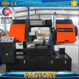 O metal hidráulico automático do CNC da elevada precisão que corta a faixa horizontal viu a máquina